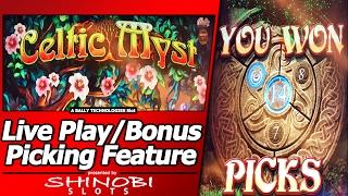 getlinkyoutube.com-Celtic Myst Slot - Live Play, with Picking Bonuses and Free Spins