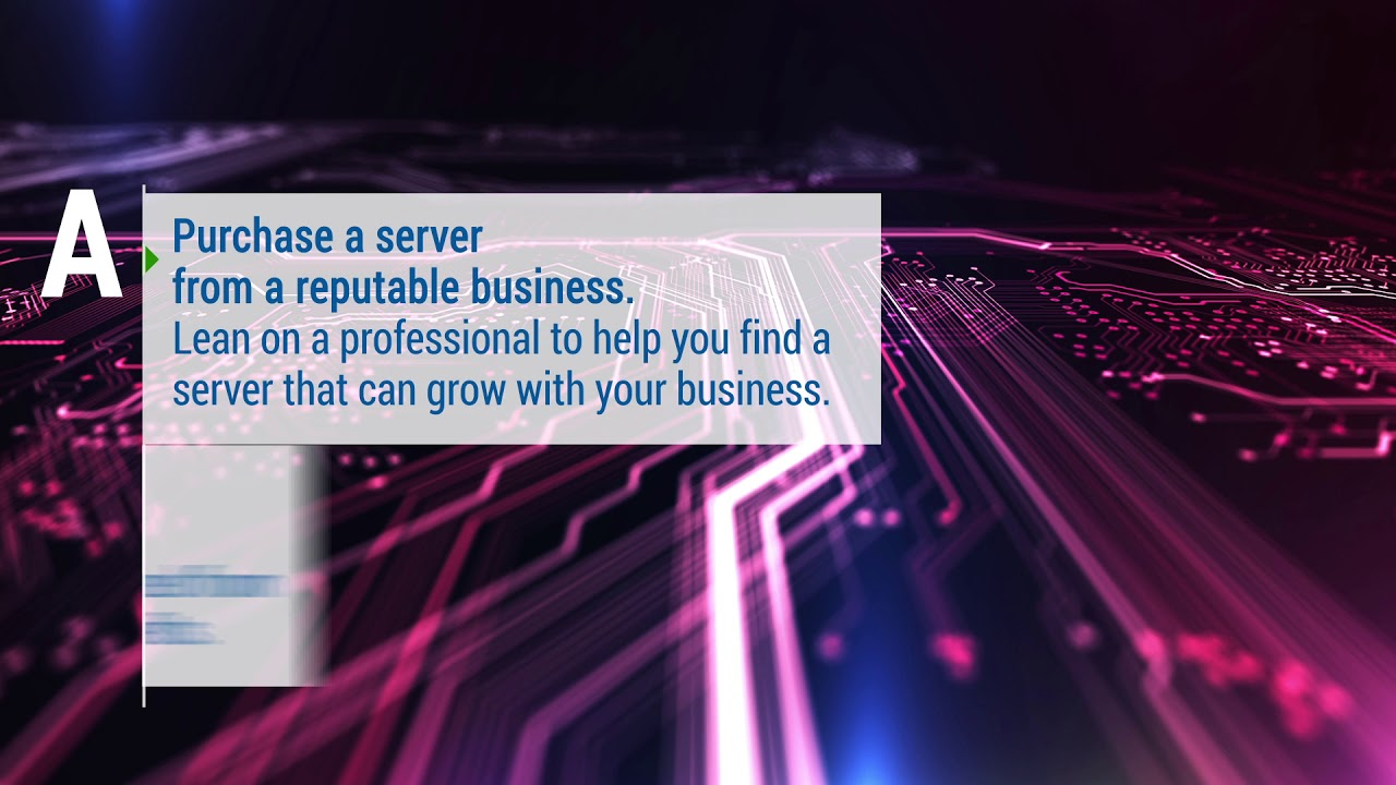 How to Setup a Server for a Small Business