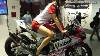 getlinkyoutube.com-EICMA 2013 Ducati Monster 1200 S - Suzuki V Strom 1000 - MV Agusta Turismo Veloce 800