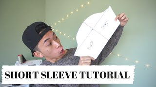 getlinkyoutube.com-Short Sleeve Pattern Tutorial! | KAD PATTERNS #2