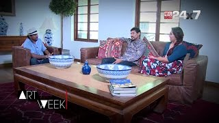 T.M Dilshan & Manjula Thilini Interview with ART WEEK