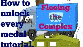 getlinkyoutube.com-Fleeing the Complex Medal Walkthrough: How to unlock every single medal in the game