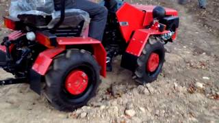 getlinkyoutube.com-Минитрактор Беларус 132H (tractor Belarus). Stroysad.com.ua