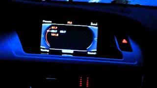 getlinkyoutube.com-Audi MMI LED Light Colour Change to Match Screen