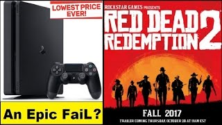 getlinkyoutube.com-PS4 Slim Is an Epic Disaster? Red Dead Redemption 2 Confirmed, Release Date is Fall 2017