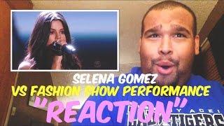 getlinkyoutube.com-Selena Gomez Victoria's Secret Fashion Show 2015 Performance [REACTION]