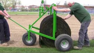 getlinkyoutube.com-How to lay Big Roll turf