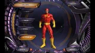 DC Universe Online Flash Character Creation