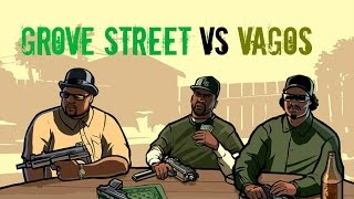 "getlinkyoutube.com-GTA 5 - ""Grove Street Vs Vagos!'"