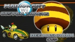 getlinkyoutube.com-Mario Kart Wii Custom Tracks - Bee Mushroom Cup