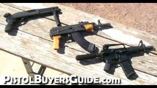 getlinkyoutube.com-Short AK47, AR-15 and Shotgun