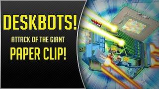 getlinkyoutube.com-Deskbots, Attack of the GIANT Paperclip! (Nov 2015 YGOPro Duel)
