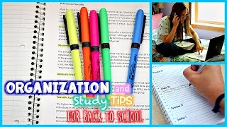 getlinkyoutube.com-Study Tips and Organization for Back to School