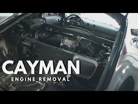 Porsche Cayman Engine Removal - Part 1