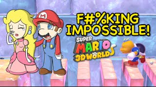 FINAL LEVEL! F#%KING IMPOSSIBLE! [SUPER MARIO 3D WORLD] [Champion's Road]