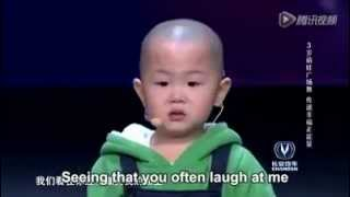 getlinkyoutube.com-Cute 3 Year Old Chinese Boy Performs For An Audition