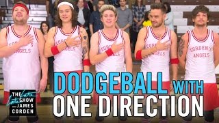 getlinkyoutube.com-Dodgeball with One Direction