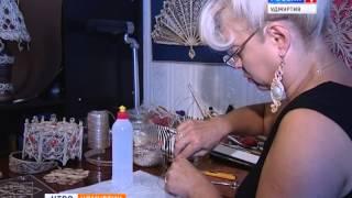 getlinkyoutube.com-Поделки из Джута  Вера Пушина художник  08 августа 2014