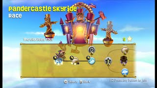 getlinkyoutube.com-SKYLANDERS SUPERCHARGERS WII PANDERCASTLE SKYRIDE RACE part 1