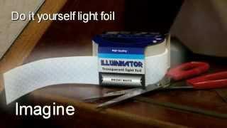 getlinkyoutube.com-Светильник любой формы своими руками  - Flexible OLED Lighting