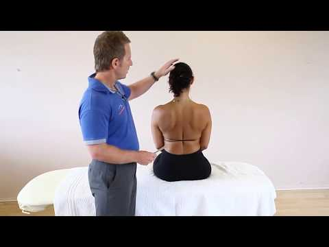 How to treat Neck and upper back pain - Kinesiology Taping