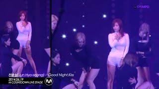 getlinkyoutube.com-[MPD/직캠] 1400619 전효성 Jun Hyo-seong - Good night, Kiss
