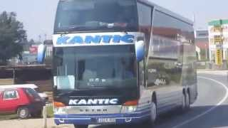 getlinkyoutube.com-Kantić Touristik, Tešanj.. Setra 517 HDH + Setra 431 DT , HD
