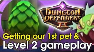 getlinkyoutube.com-Dungeon Defenders 2 - How to get your first pet & level 2 walkthrough