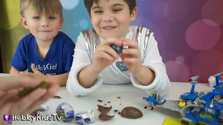 getlinkyoutube.com-Outer Space Science! STAR WARS HobbyScience Lab Star Facts and Galaxy Chocolate HobbyKidsTv