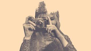 getlinkyoutube.com-Double Exposure Effect: Photoshop Tutorial