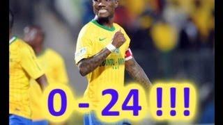getlinkyoutube.com-Powerlines FC 0 - 24(Yes24) Mamelodi Sundowns - Nedbank Cup 2012 - INCREDIBLE!