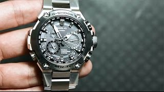 getlinkyoutube.com-Casio G-SHOCK MRG-G1000D-1A *PREMIUM CASIO WATCH WITH GPS