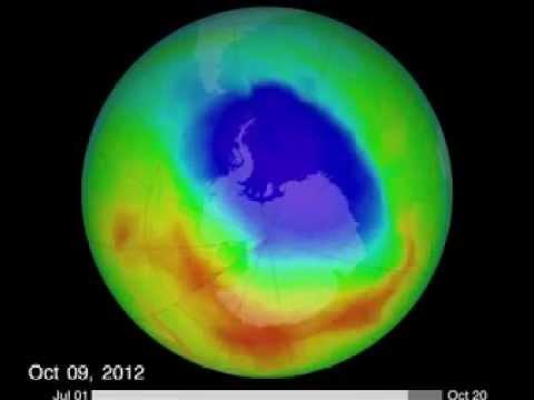 AGUJERO CAPA DE OZONO LLEGA A MÁXIMO EL 2012