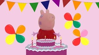 getlinkyoutube.com-Happy Birthday Song with Peppa Pig