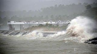 Tifón Haiyan azotó Filipinas y amenaza Vietnam