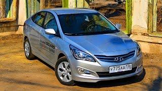 getlinkyoutube.com-Hyundai Solaris 2015 тест-драйв (Хендай Солярис) 6АКПП
