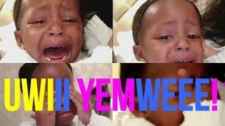 Mtoto Wa Diamond Amwaga Machozi Ya Damu Kwa Mara Ya Kwanza