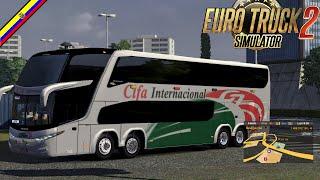 getlinkyoutube.com-Euro Truck Simulator 2 - ModBus/ Marcopolo G7-1800 DD/1.16-1.19/ SKINES Ecuador
