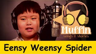 getlinkyoutube.com-Eensy Weensy Spider (Itsy Bitsy)  | Family Sing Along - Muffin Songs