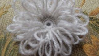 getlinkyoutube.com-Flor # 6 Crochet de Lazos