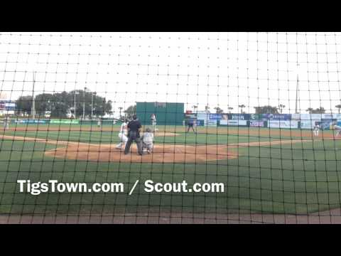 Detroit Tigers prospect RHP Jake Thompson
