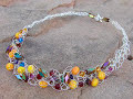 How to Make a Crochet Necklace | Beaded Jewelry