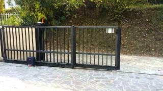 Cancello automatico scorrevole normativa