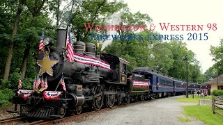 getlinkyoutube.com-Wilmington & Western #98: Fireworks Express 2015