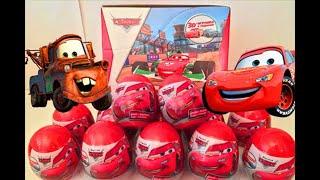 getlinkyoutube.com-Surprise Eggs Disney Cars,Киндер Яйца С Сюрпризом Дисней Тачки От Конфитрейд