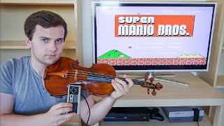 getlinkyoutube.com-Playing Super Mario Bros on Violin
