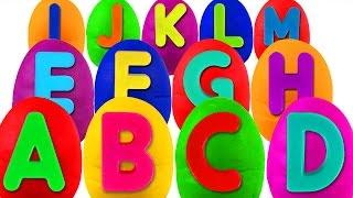 getlinkyoutube.com-Play Doh Alphabet Surprise | ABC Songs for Children, Kindergarten Kids Learn the Alphabet, Toys