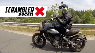 Ducati Scrambler Urban Enduro Test Ride