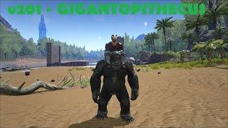 getlinkyoutube.com-ARK SURVIVAL EVOLVED PC ESPAÑOL - Update v201 - El gorila/mono (Gigantopithecus)