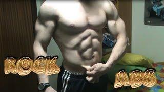 getlinkyoutube.com-Abdominales como rocas entrenando EN CASA //HARD rock six pack at home